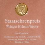 Weber Weine Staatsehrenpreis 2014